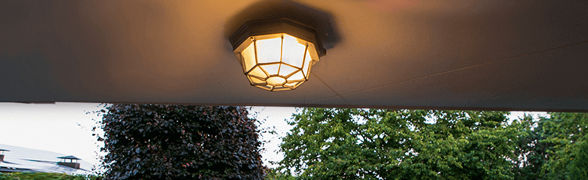 Āra griestu lampas