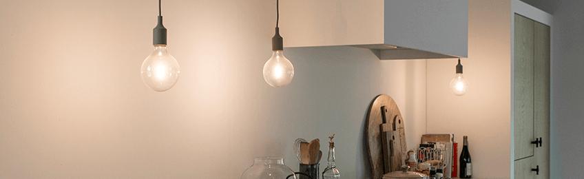 Virtuves lampas