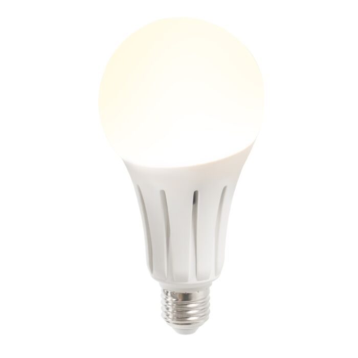 LED-lampa-B60-15W-E27-silti-balta