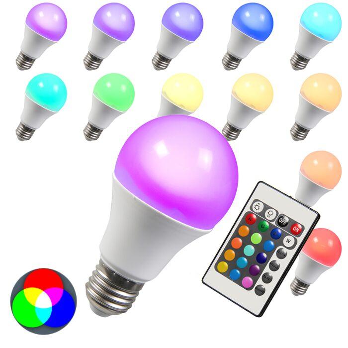 LED-spuldze-RGB-E27-3W