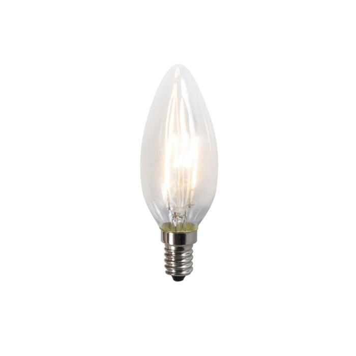 Vītā-kvēldiega-LED-lampa-C35-2W-2200K-caurspīdīga