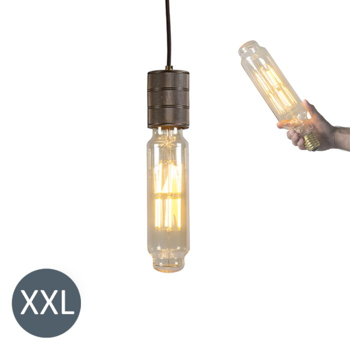 Piekaramā-lampa-Torņa-bronza-ar-regulējamu-LED-lampu