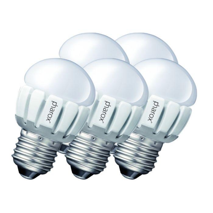 5-Pharox-LED-200-P45-E27-5W-230V-komplekts