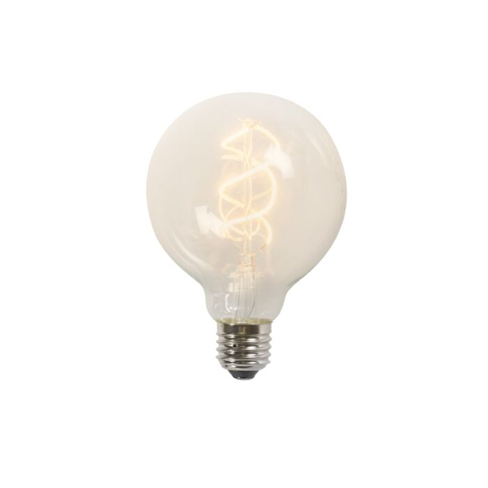 Vītā-kvēldiega-LED-lampa-G95-5W-2200K-caurspīdīga