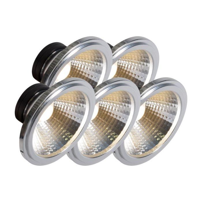 AR111-LED-lampa-COB-7W-24-°-komplektā-ar-5