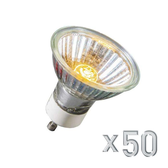 Halogēna-GU10-40W-350LM-230V-komplekts-50