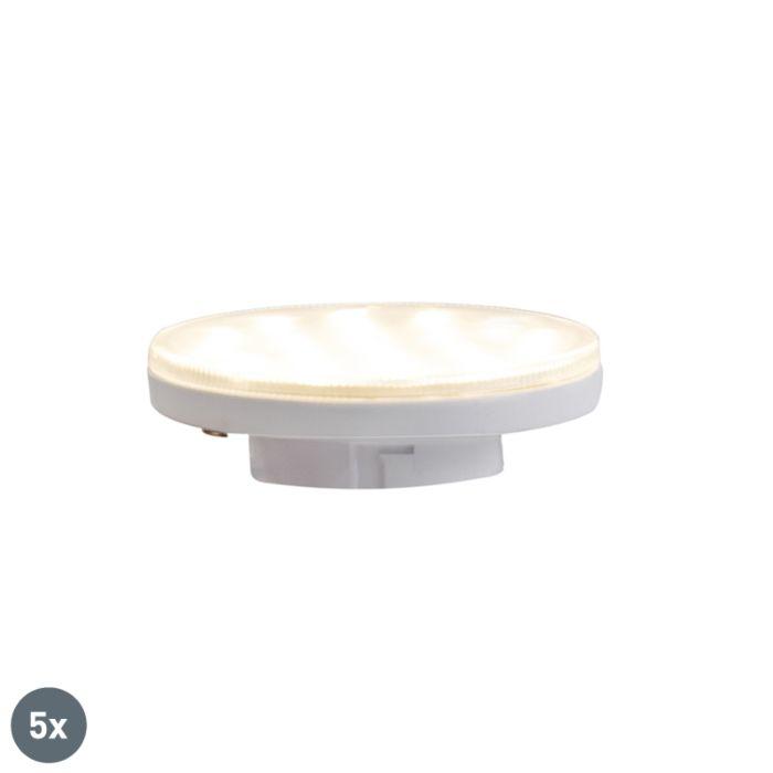 5-GX53-trīspakāpju-regulējamo-LED-lampu-komplekts-3W-350-lm-3000K