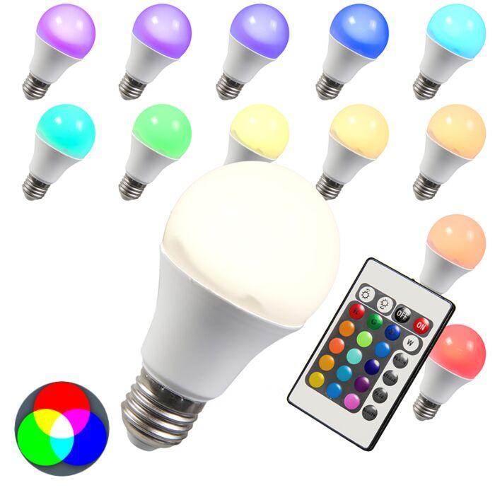 LED-spuldze-RGB-E27-10W-īpaši-silta-balta