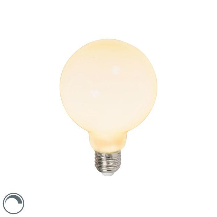 LED-globusa-lampa-E27-240V-6W-650lm-regulējama
