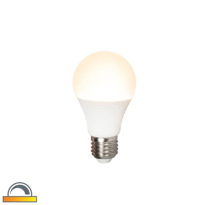 LED-lampa-E27-240V-7W-510lm-A60-aptumšojama