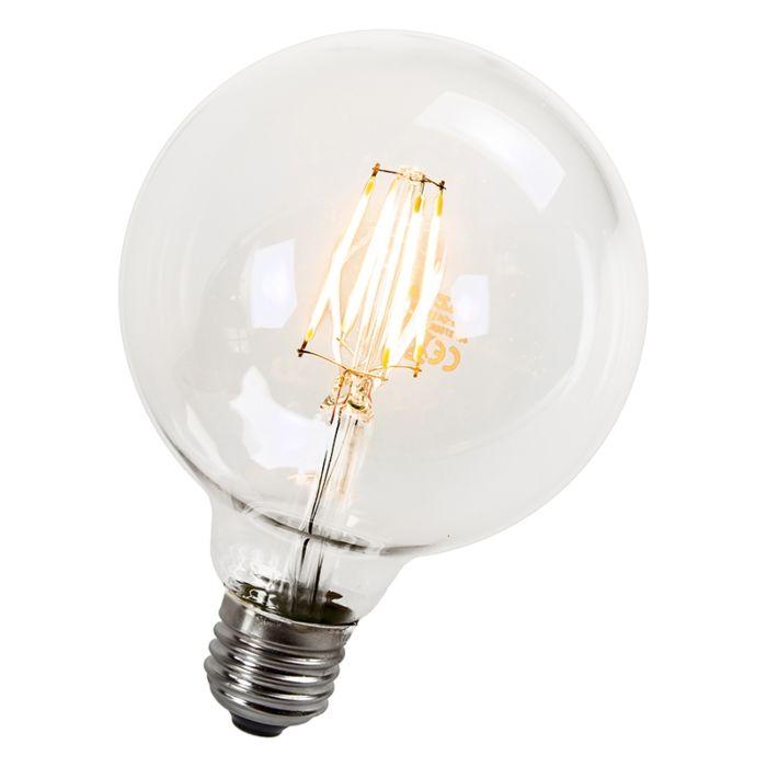 LED-kvēlspuldzes-lampa-95mm-E27-4W-470-lūmeni