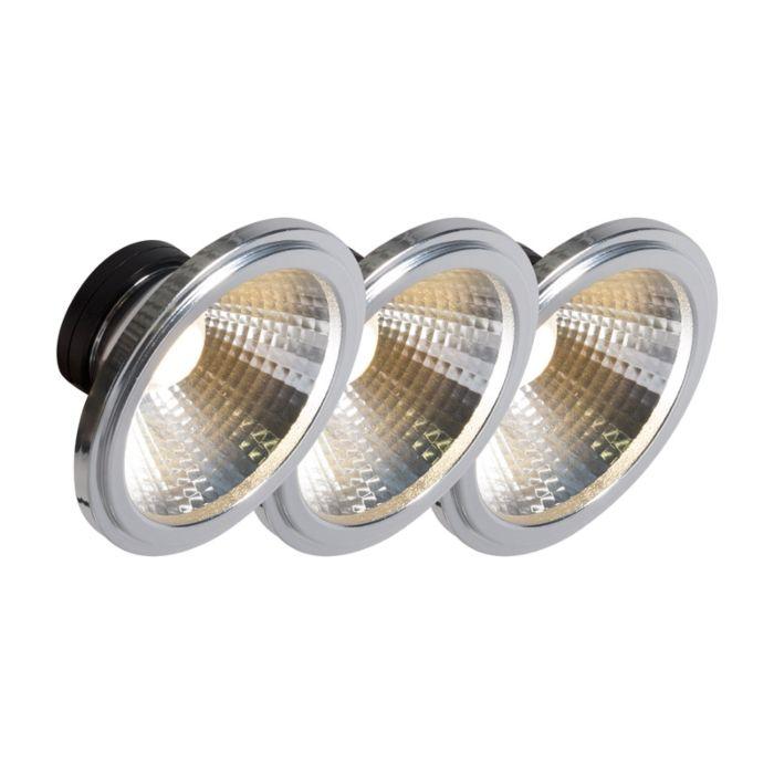 AR111-LED-lampa-COB-7W-24-°-komplekts-3