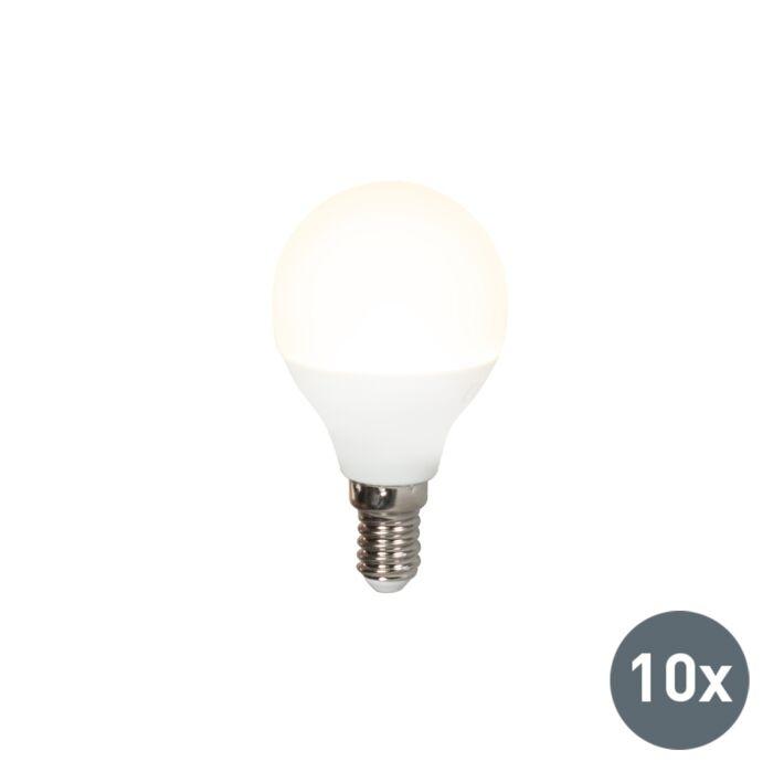 10-LED-lampu-komplekts-P45-E14-5W-3000K