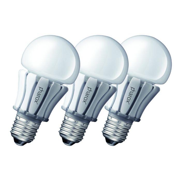 3-Pharox-LED-lampu-komplekts-400-E27-8W-230V