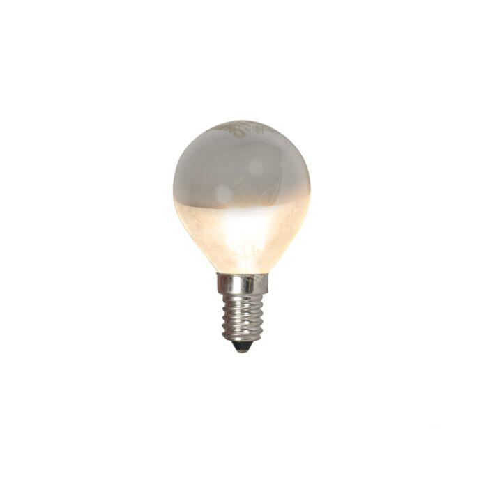 LED-kvēlspuldzes-spuldzes-galvas-spogulis-E14-240V-4W-370lm