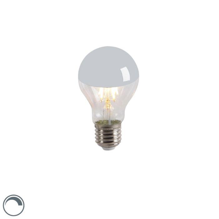 LED-kvēlspuldzes-galvas-spogulis-E27-240V-4W-300lm-A60-regulējams