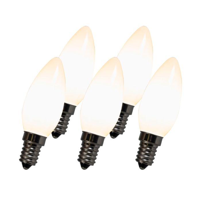 Kvēldiega-LED-lampa-C35-E14-2W-2700K-balta-komplektā-ar-5