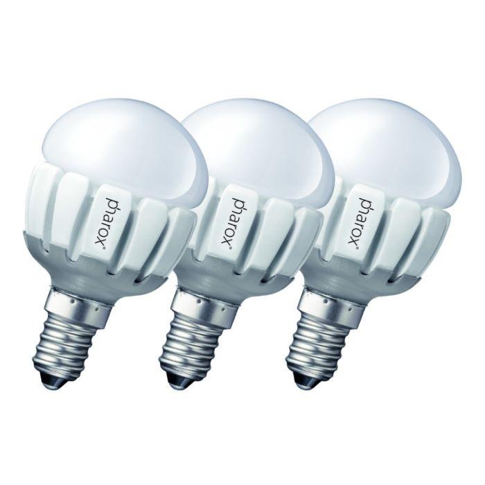3-Pharox-LED-200-P45-E14-5W-230V-komplekts