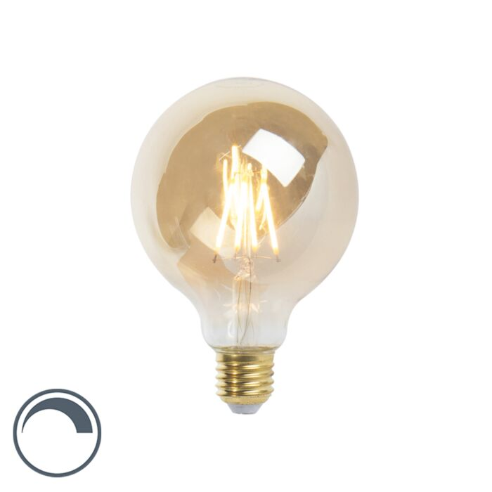 LED-E27-regulējamā-kvēlspuldze-G95-goldline-360lm-2200K