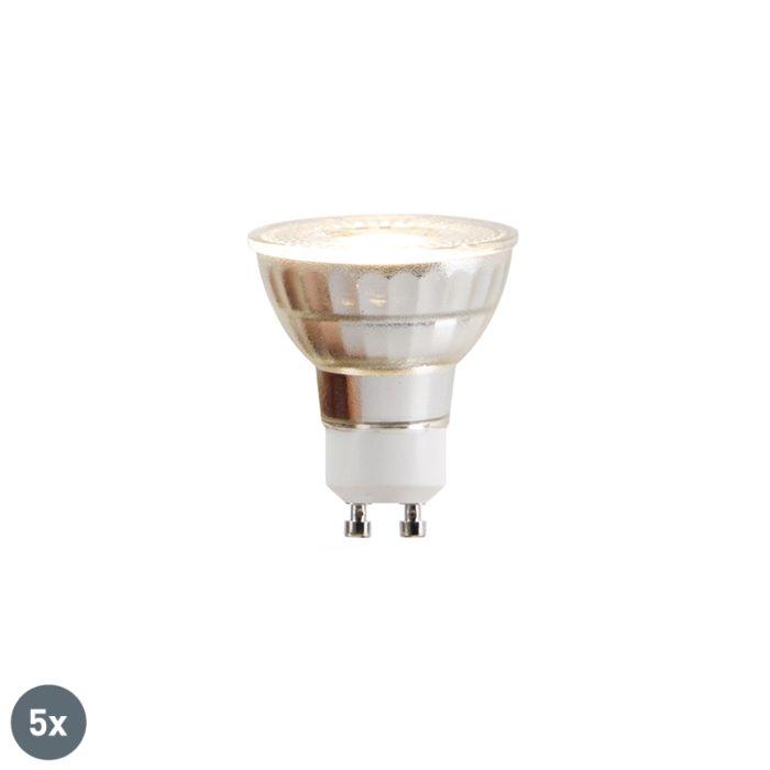 5-GU10-LED-lampu-komplekts-COB-5W-380lm-2700K