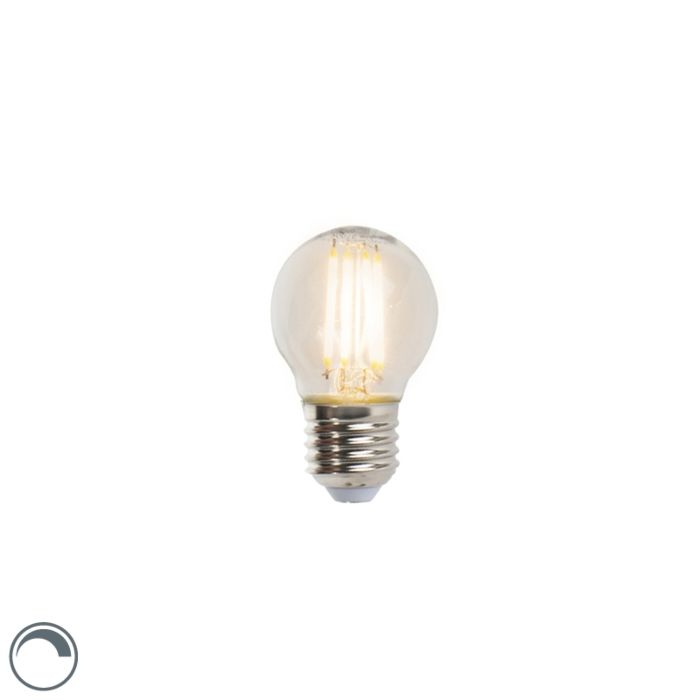 LED-kvēlspuldžu-lodlampa-E27-5W-470lm-P45-regulējama