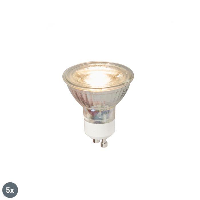 5-GU10-LED-lampu-komplekts-COB-5W-380LM-3000K