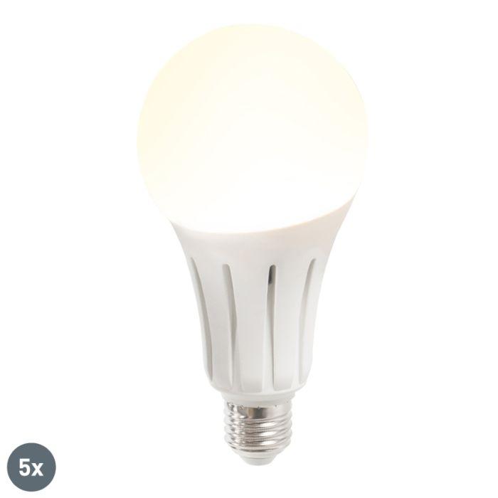 5-LED-lampu-komplekts-B80-24W-E27-silti-balts