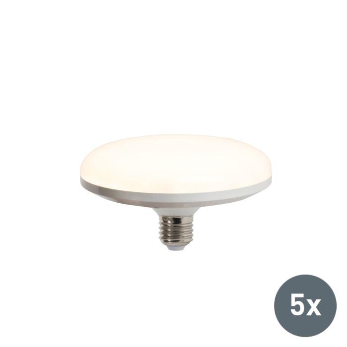 5-LED-lampu-komplekts-UFO-E27-18W-silti-balts