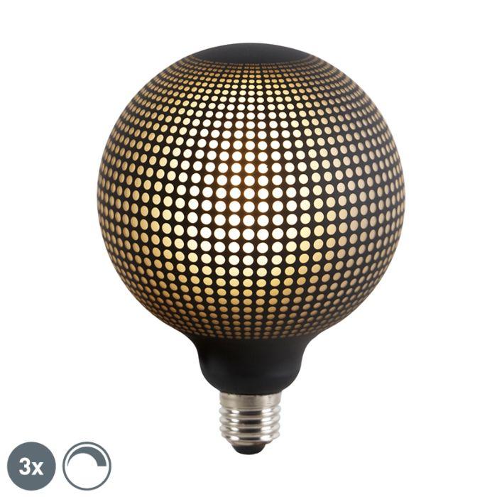 3-E27-regulējamo-LED-globusa-spuldžu-komplekts-DECO-4W-100-lm-2700K