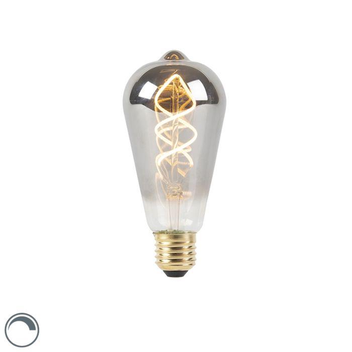 E27-aptumšojama-LED-vītā-kvēlspuldze-dūmu-100-lm-2100K