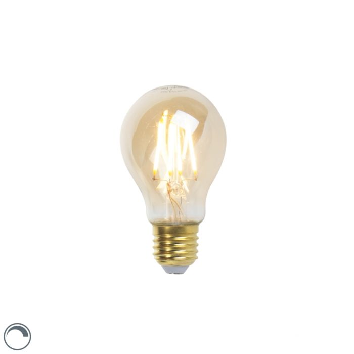 E27-aptumšojama-LED-kvēlspuldze-A60-goldline-5W-360-lm-2200K
