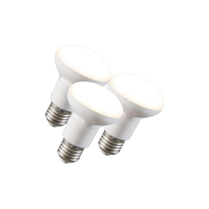 3-LED-atstarotāju-lampu-komplekts-R63-E27-240V-8W-2700K-aptumšojams
