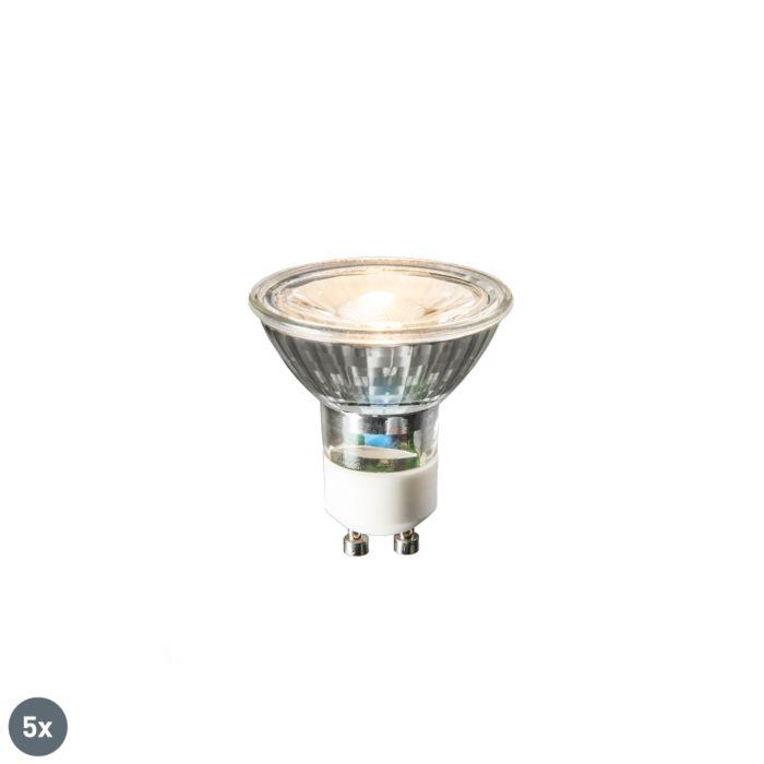 5-GU10-LED-spuldžu-komplekts-COB-3W-230lm-2700K