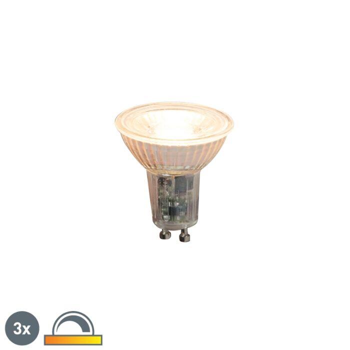 3-GU10-regulējamo-LED-spuldžu-komplekts-5,5-W-360lm-2000K---2700K