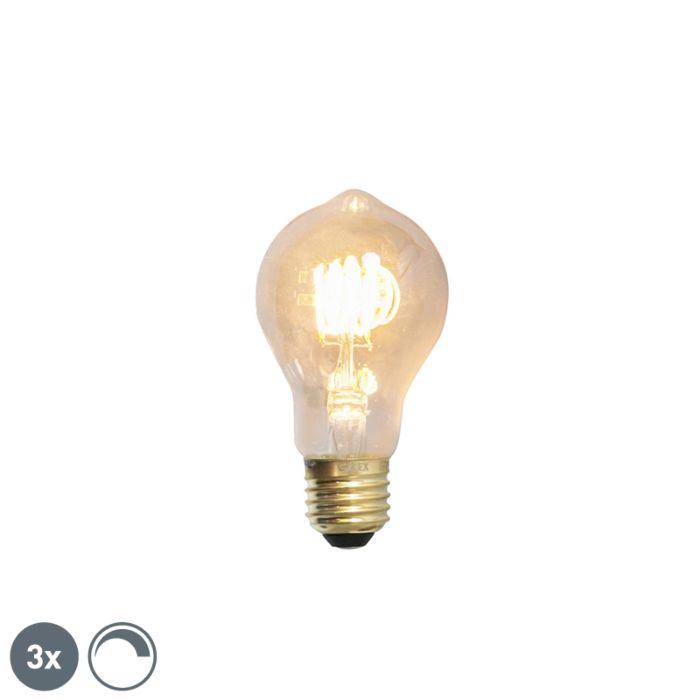 3-E27-regulējamo-LED-kvēlspuldžu-komplekts-4W-200lm-2100-K.