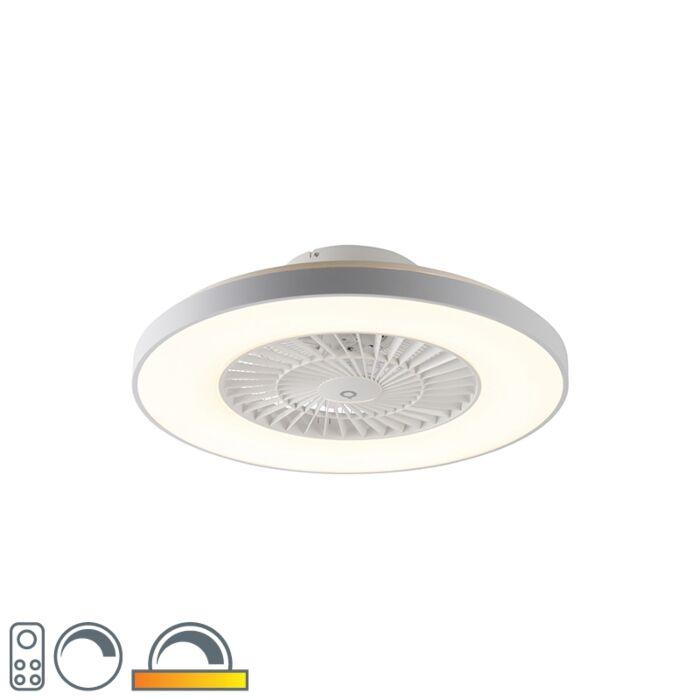 Griestu-ventilators-balts-ar-zvaigznītes-efektu,-regulējams---Climo