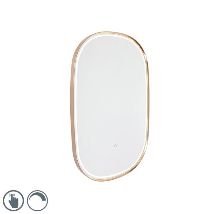 Vannas-spogulis-varš-ar-LED-ar-skārienjutīgu-ovālu---Miral