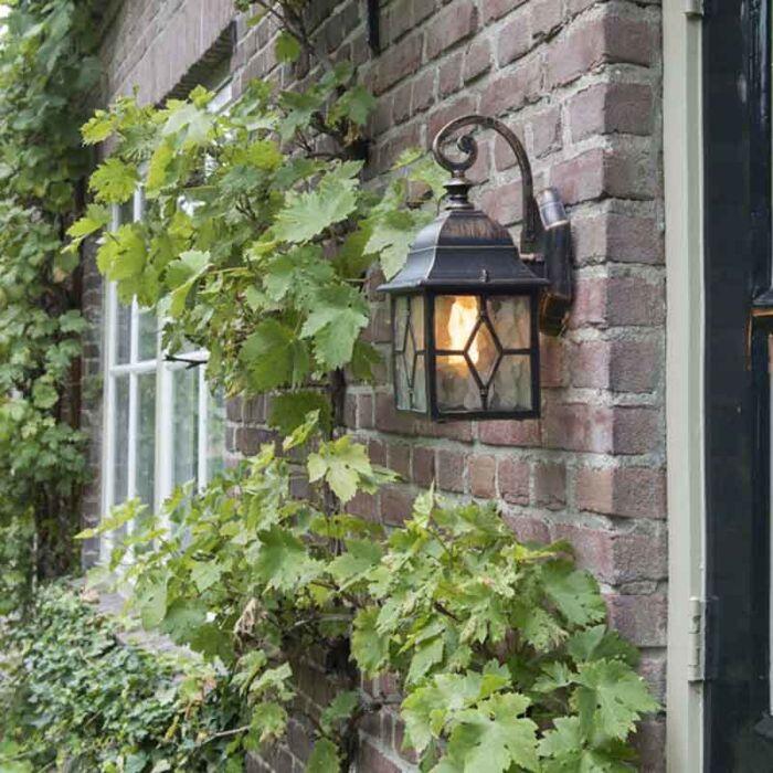 Romantiska-āra-sienas-laternu-bronza---Londona