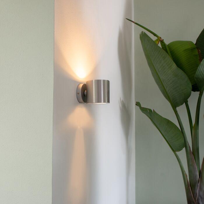 Mūsdienu-sienas-lampa-alumīnija-apaļa---efekts