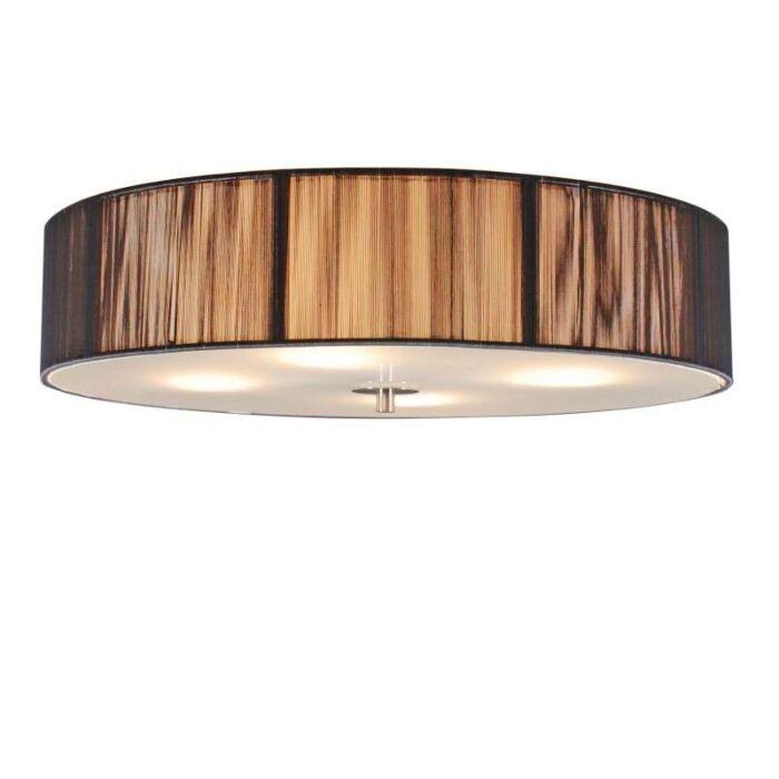 Klasisks-griestu-lampa-antracīts-50-cm---Virve