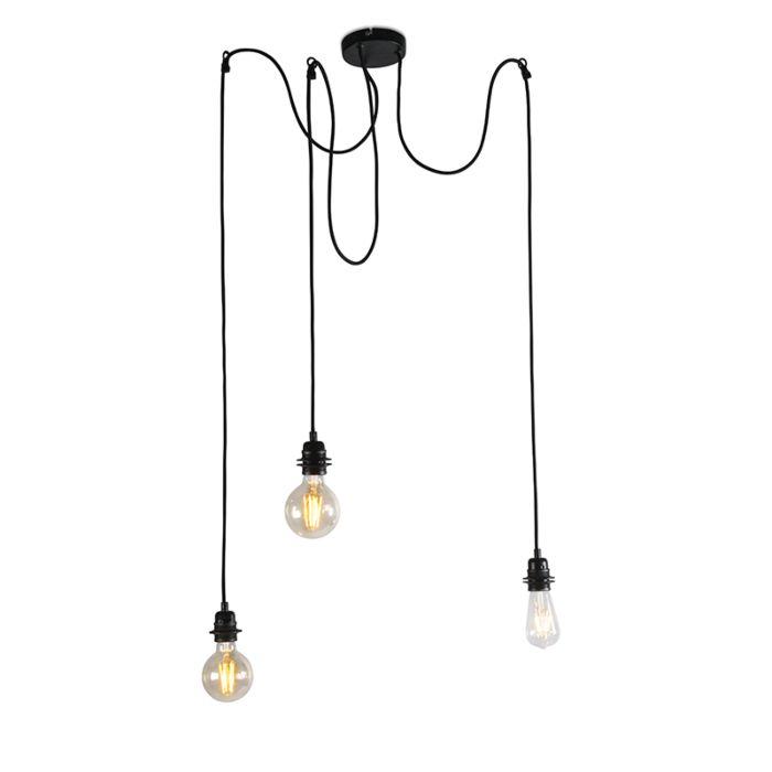 Rūpnieciskā-piekaramā-lampa-melna---Cava-3