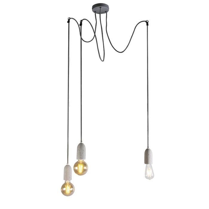 Rūpnieciski-piekarama-lampa-pelēks-betons---Cava-3