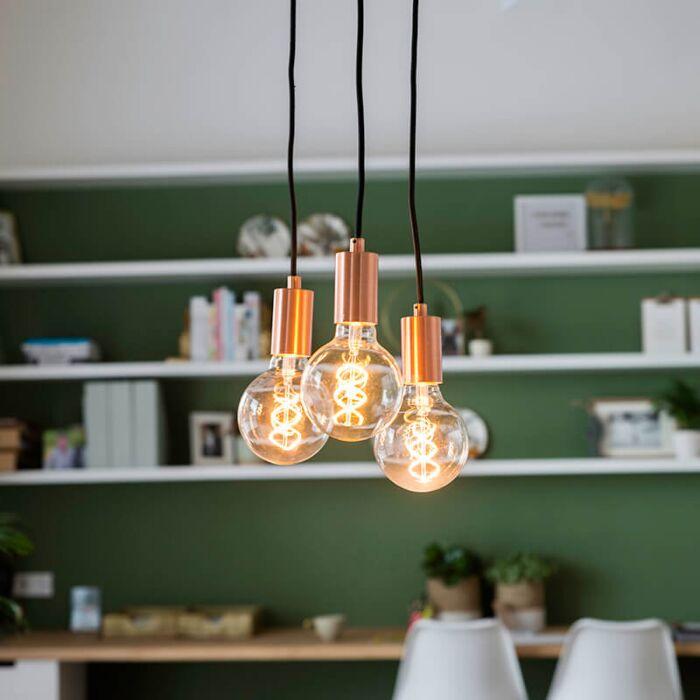 Art-deco-piekaramā-lampa-vara---Facil-3