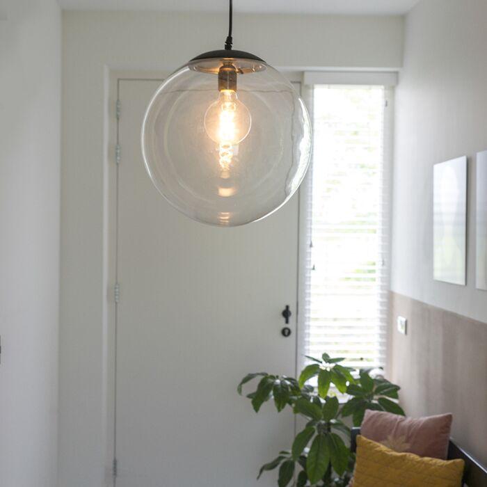 Mūsdienu-piekaramā-lampa-caurspīdīga-35-cm---Pallon