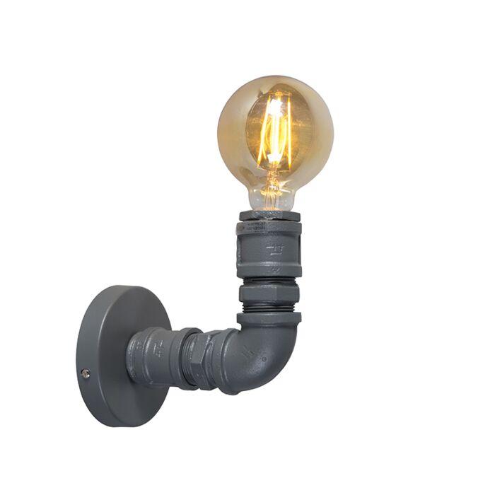 Rūpnieciskā-sienas-lampa-tumši-pelēka---santehniķis-1