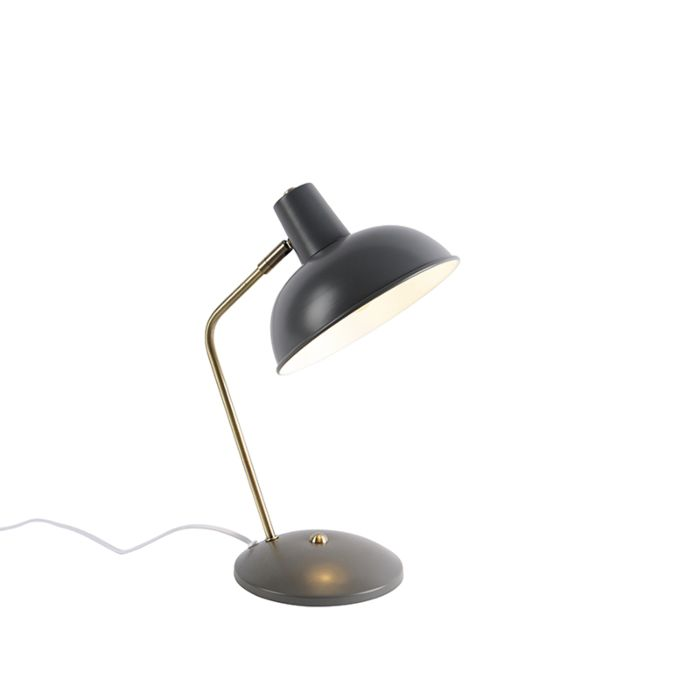 Retro-galda-lampa-pelēka-ar-bronzu---Milou