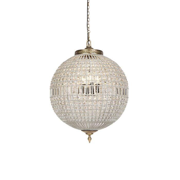 Art-Deco-karājas-lampas-kristāls-ar-zeltu-65-cm---Kasbah